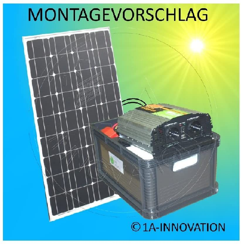Complete 220 V Solar Plant Tuv Battery Amazon De Elektronik In 2020 Solaranlage Solaranlage Gartenhaus Sonnenkollektor