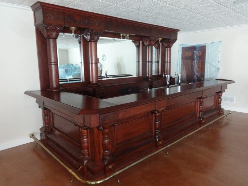 small antique home bar back bars for sale in. Black Bedroom Furniture Sets. Home Design Ideas
