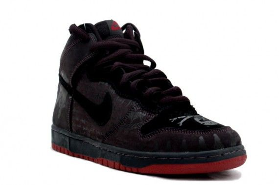 Nike Dunk High Pro SB - Black Melvin