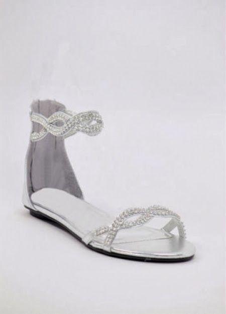 novias con zapatos planos: ¿sólo para mujeres muy altas, o para