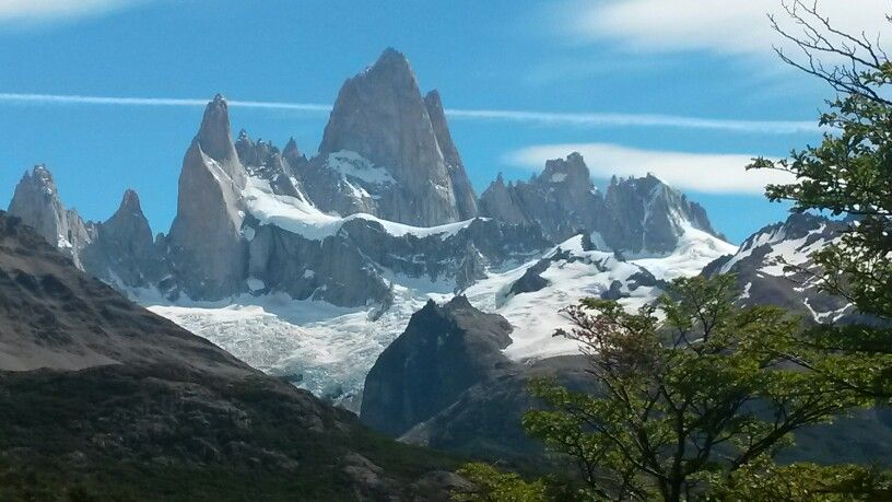 Cerro Fitz Roy. El Chalten. Argentina.