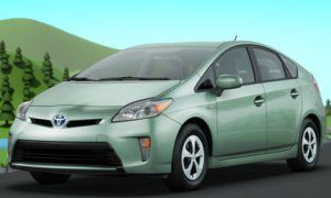 Toyota Finally Made A Prius In A Green Color I Like Prius