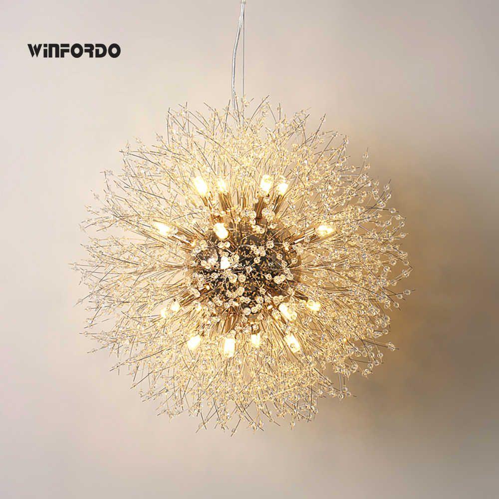 Nordic Luxury Gold Crystal Chandelier Lighting Modern Large Lustre Hanging Lamp For Living Room Hotel Hall Art Decor Lighting Chandeliers Aliexpress Lamps Living Room Crystal Chandelier Lighting Chandelier Lighting