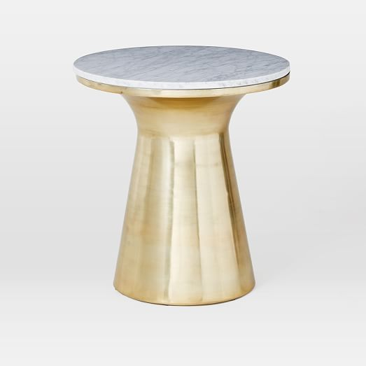 Martini Side Table martini side table - antique brass | west elm. i love this brass