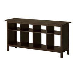 HEMNES Sivupöytä - mustanruskea - IKEA