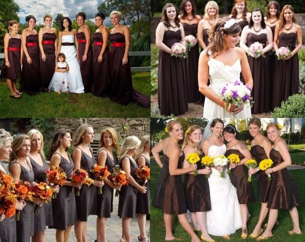 Red And Brown Wedding