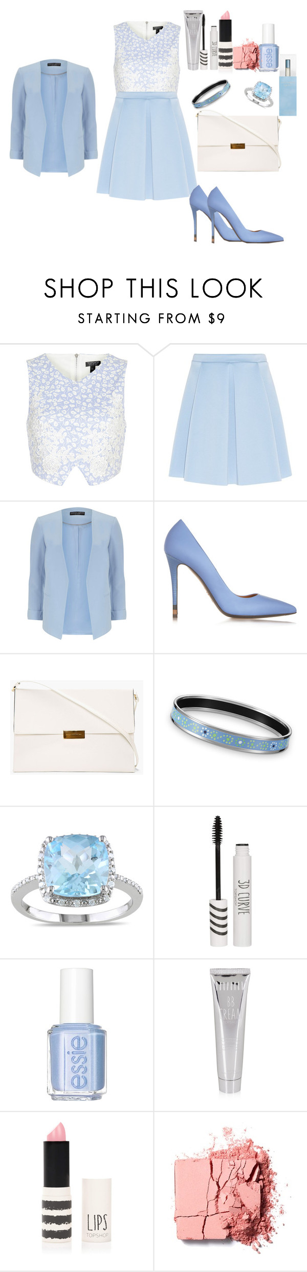"""Friday Night Out!"" by fabuliciousfi ❤ liked on Polyvore featuring Topshop, Dorothy Perkins, Fendi, STELLA McCARTNEY, Miadora, Essie, Benefit and Dolce&Gabbana"
