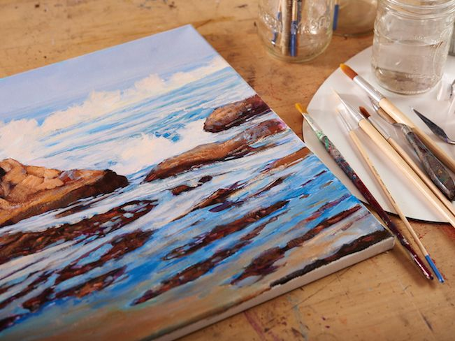 8 Invaluable Tips For Painting On Canvas Acrylic Painting Canvas