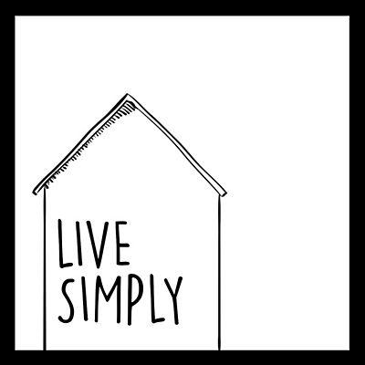 Simply | Affiche Encadrée Noire Et Blanche 30X30Cm - Alinéa