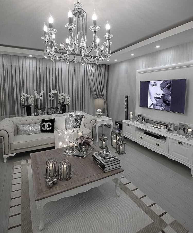 29 ideas inspiradoras para decoraci n de salas modernas - Decoraciones de casas modernas ...