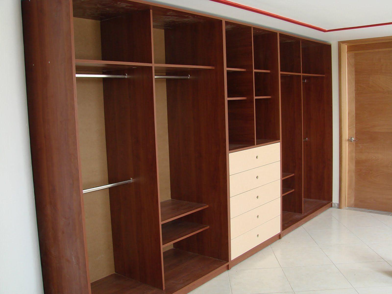 Muebles de Melamina   Closets   Pinterest   Closet de melamina ...