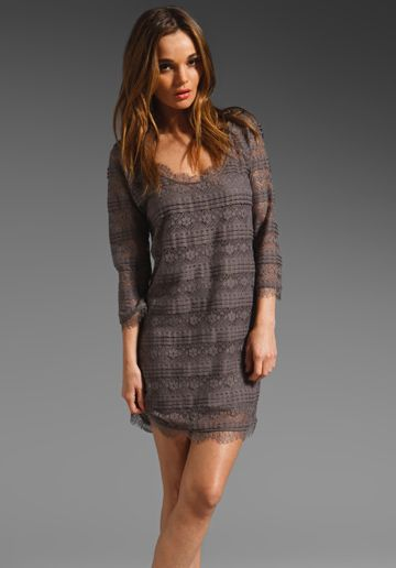 JOIE Brea Lace Dress in Storm at Revolve Clothing - Free Shipping!