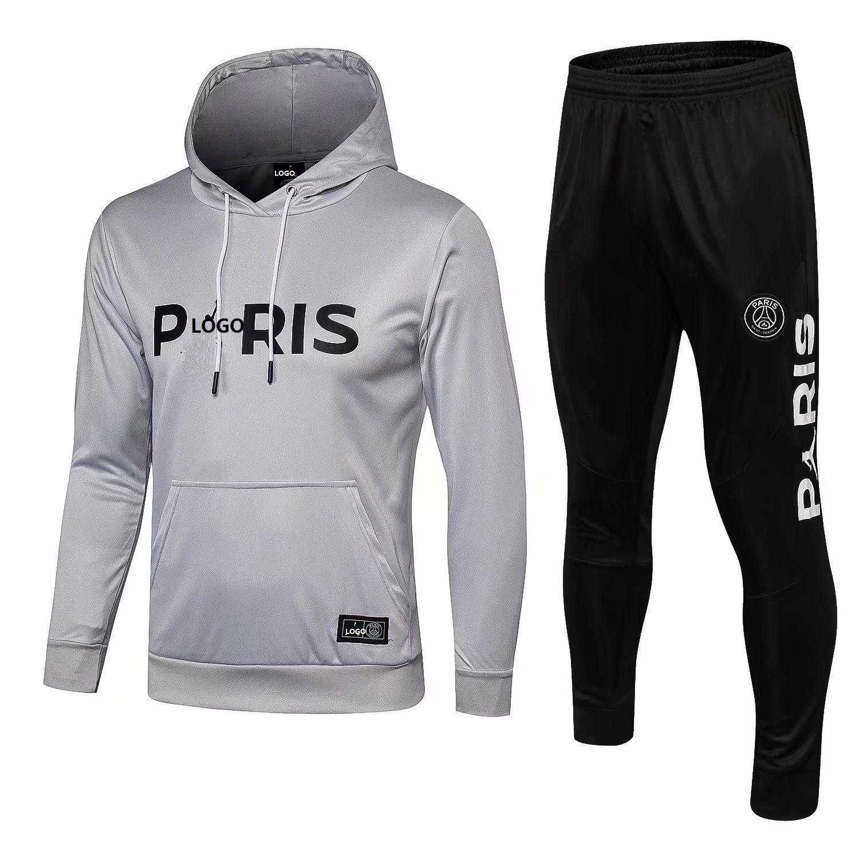 fe380f698d86 Men s Pullover Hoodie Paris Saint-Germain Jumpman Sweater Hood ...
