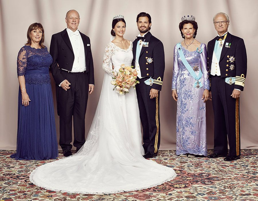 Prince Carl Philip And Princess Sofia S Official Wedding Pictures Released Blue Wedding Dress Royal Princess Sofia Of Sweden Blue Wedding Dresses