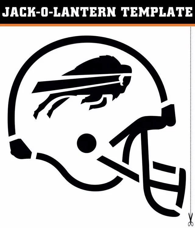 Template For Bills Jack O Lantern Buffalo Bills Pinterest