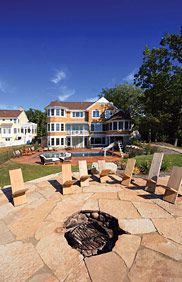 Vacation Homes Fire Pit, #Cottage, #Beach, #Houses