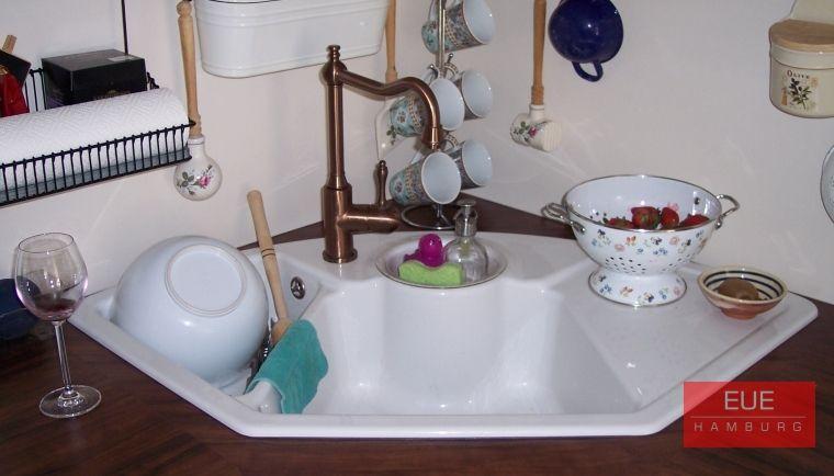 Keramikeckspüle Solo Eck Hamburg, Keramik und Küche - villeroy und boch waschbecken küche