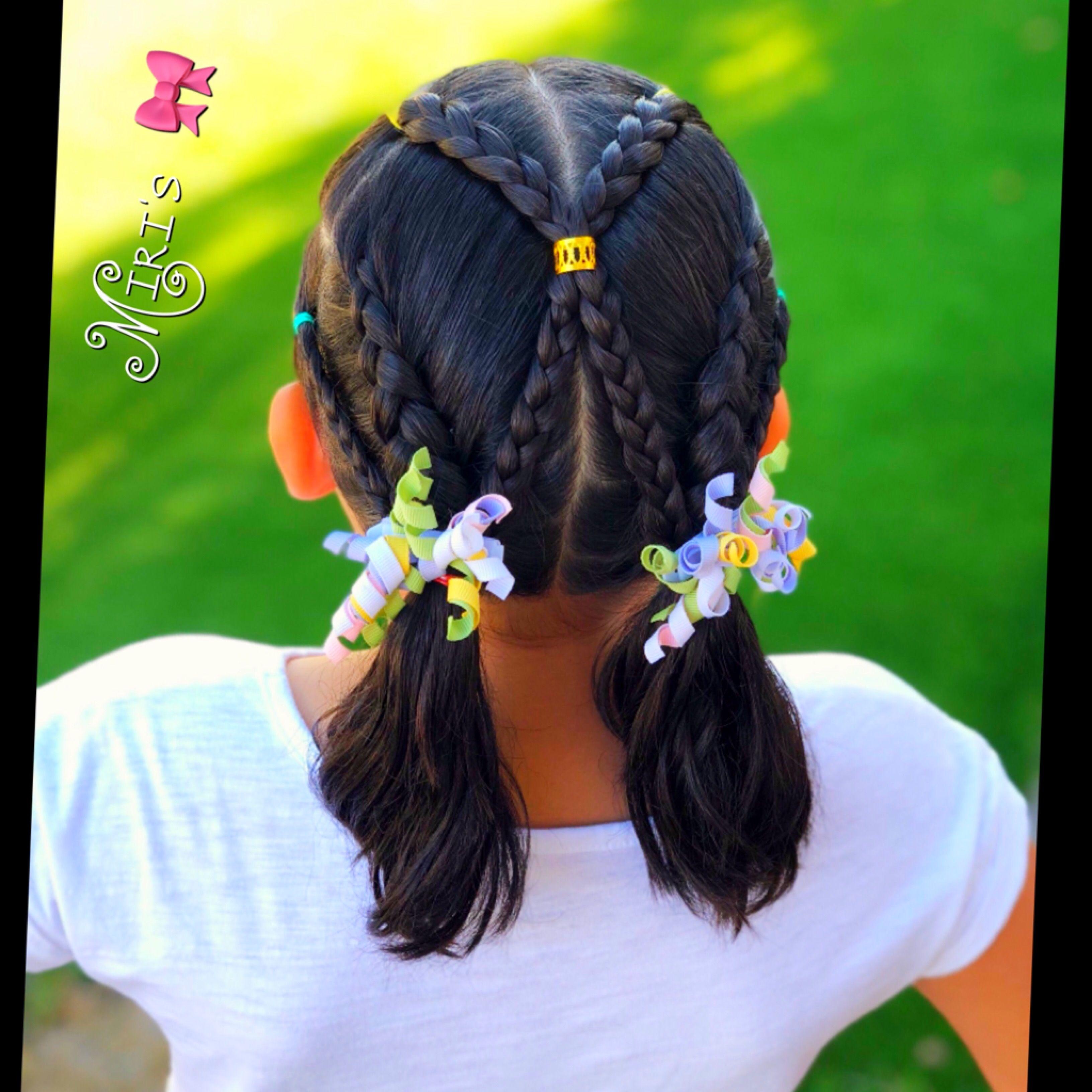 Hair style for little girls my creation miristhings pinterest