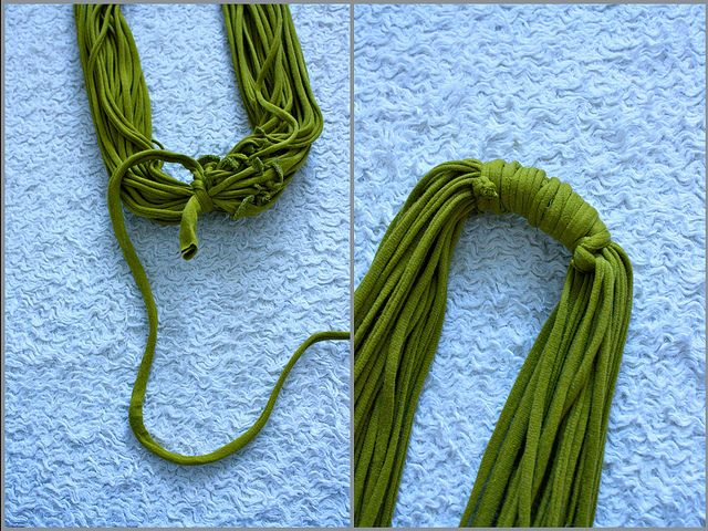 More Design Please - MoreDesignPlease - No-Sew Shirt Scarf & Necklace