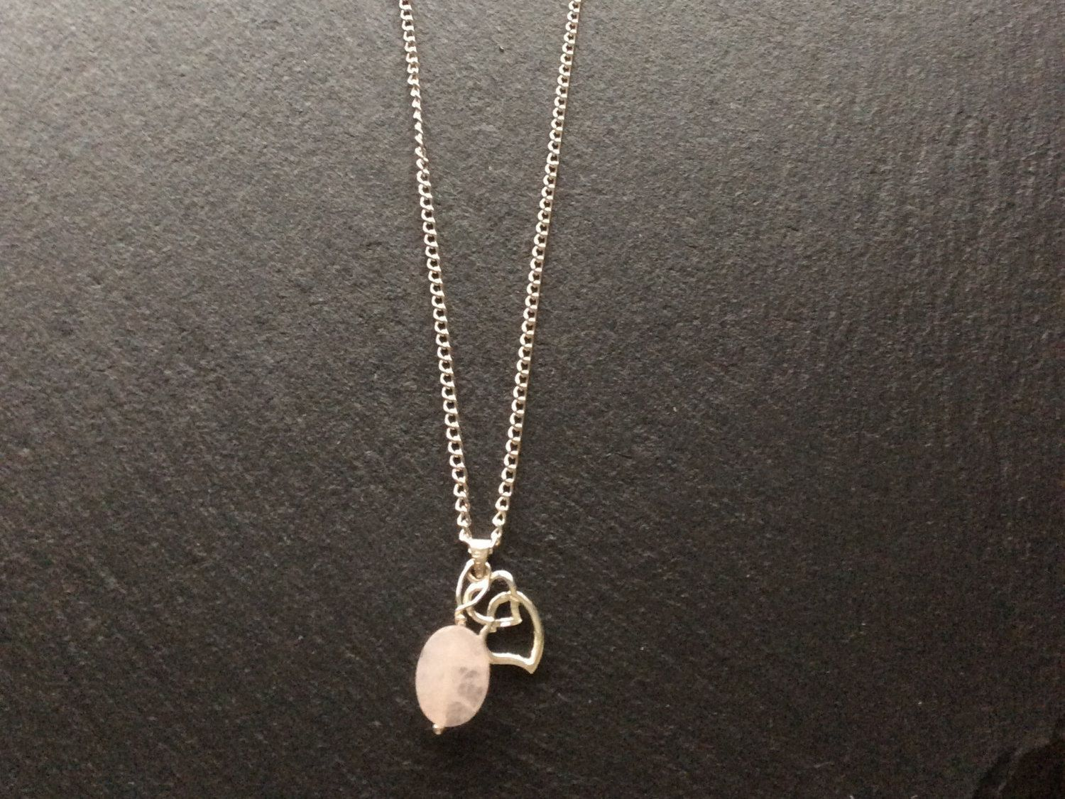A personal favorite from my Etsy shop https://www.etsy.com/uk/listing/263703507/rose-quartz-long-pendant-necklace-free