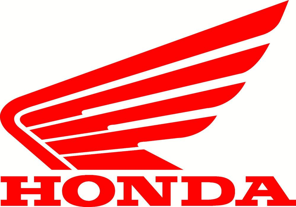 Honda Wing DecalMotorcycle window Graphic Motorcycle