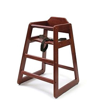 restaurant style high chair acapulco kmart lipper international child s products