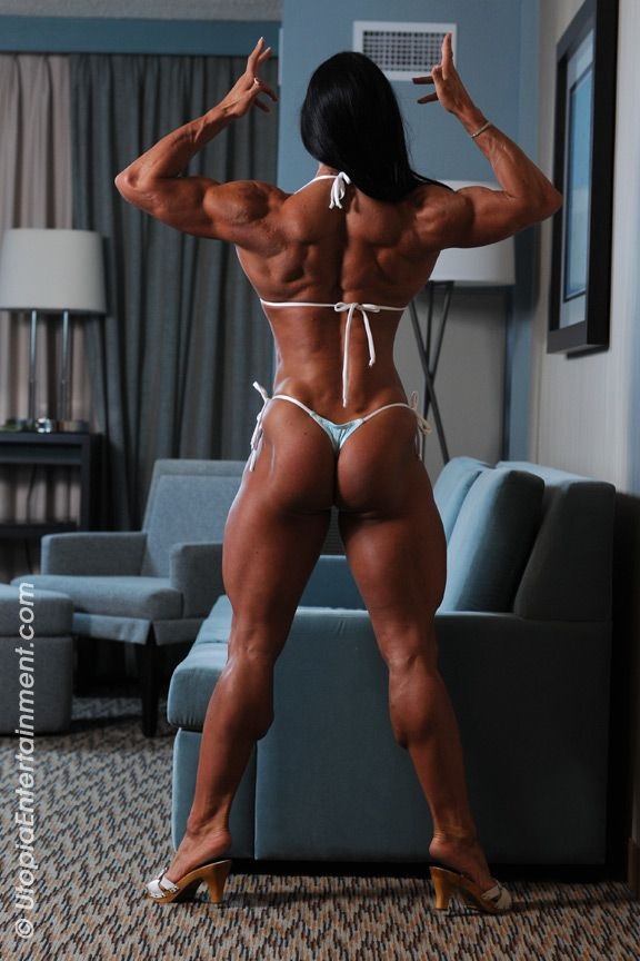 Dominant female bodybuilder
