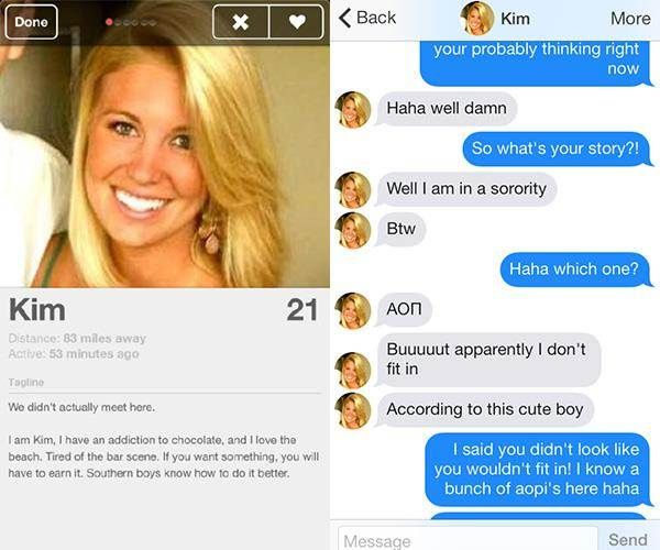 Dating website funny profiles on facebook