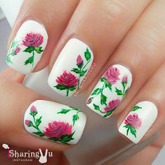 Nail art flowers nails pinterest nail art flowers and fashion nail art flowers prinsesfo Image collections