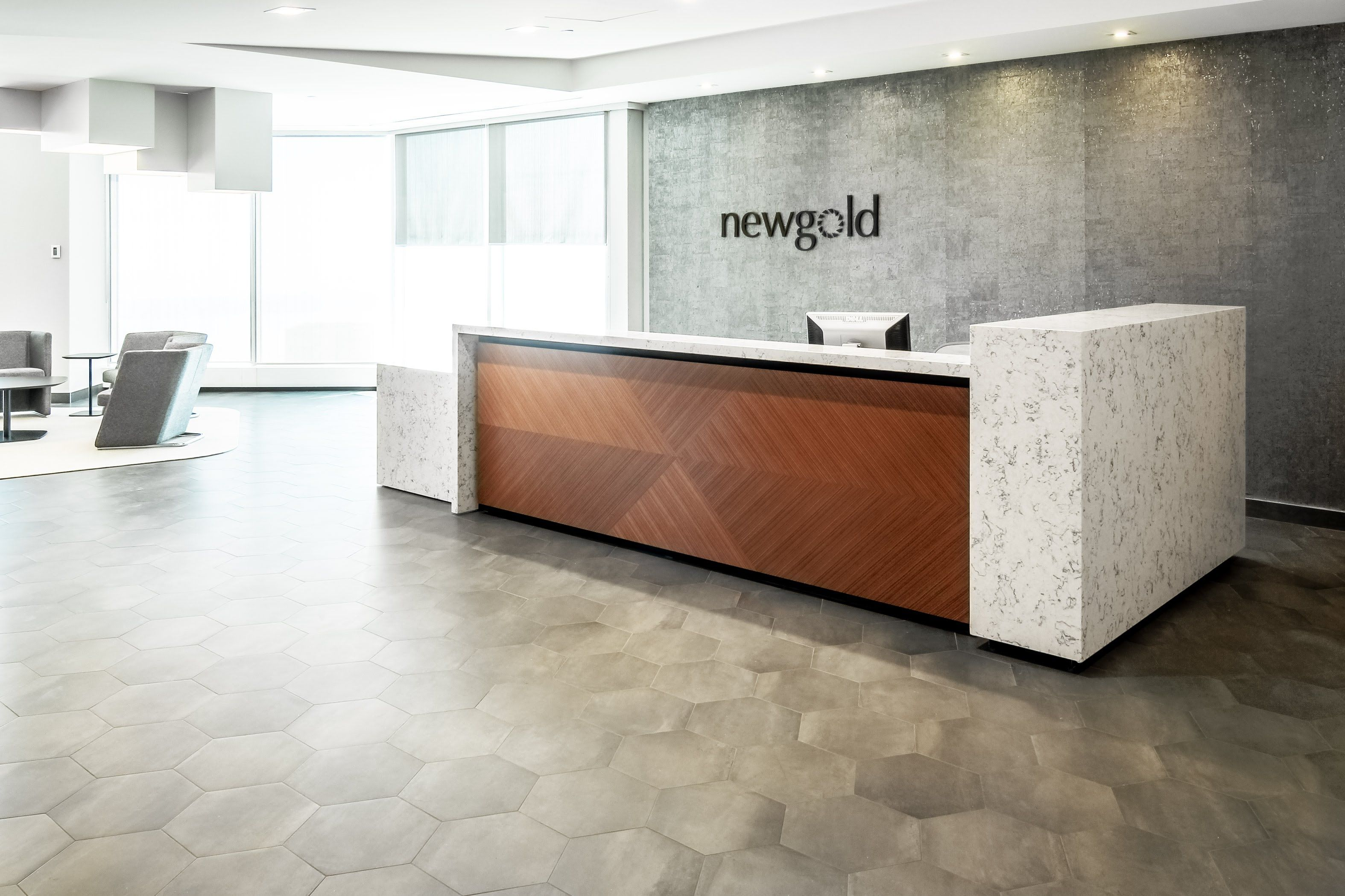 Business Office Reception Desk
