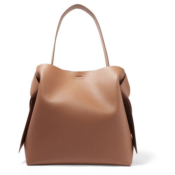 Musubi Knotted Leather Shoulder Bag - Camel Acne Studios Buy Online Cheap Price Outlet Enjoy Pictures Cheap Online Buy Cheap Fashionable nsAnqEo2V