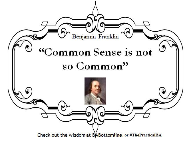 benjamin franklin common sense