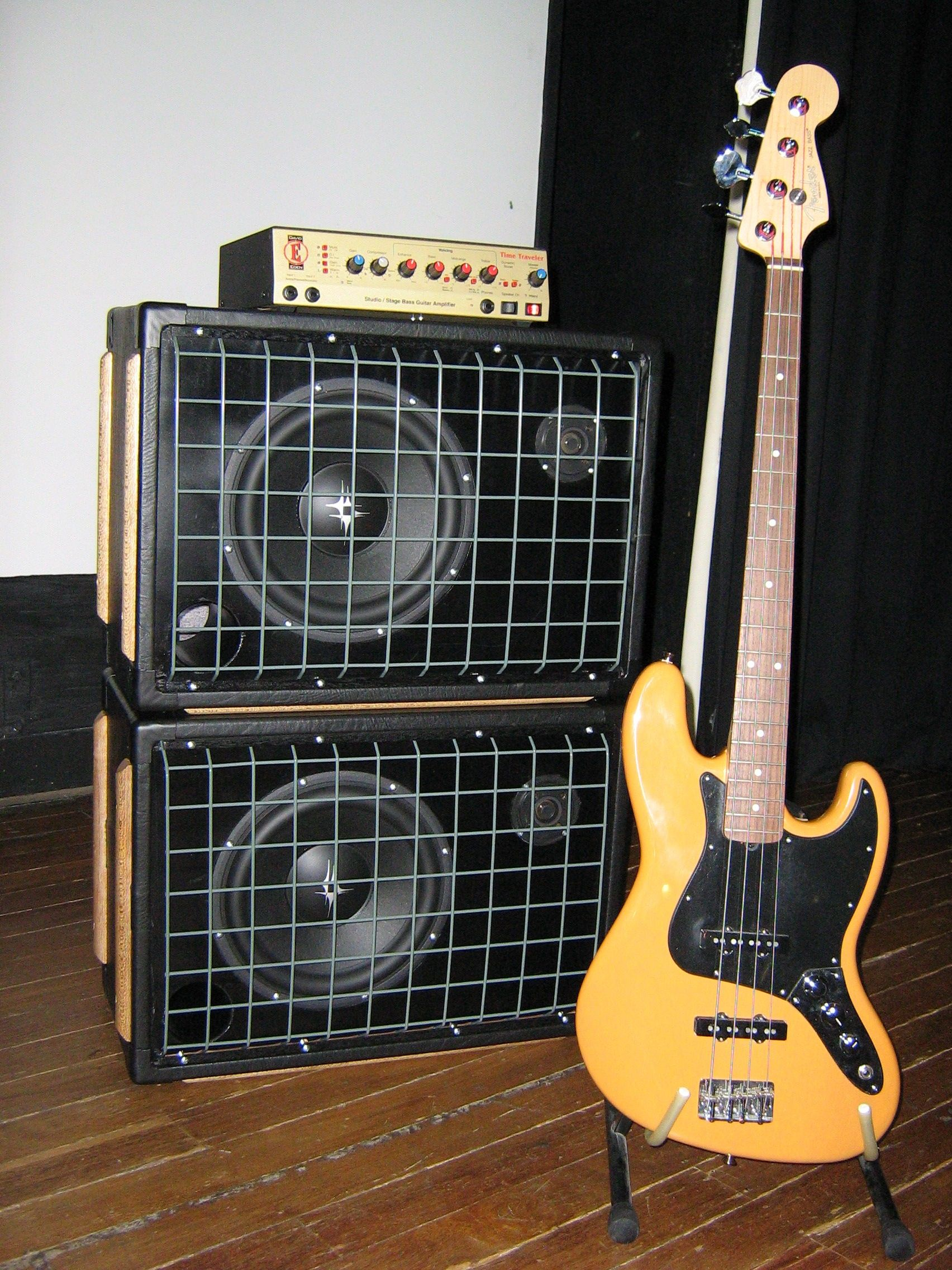 Bright yellow fender jazz bass nice but i pinned this
