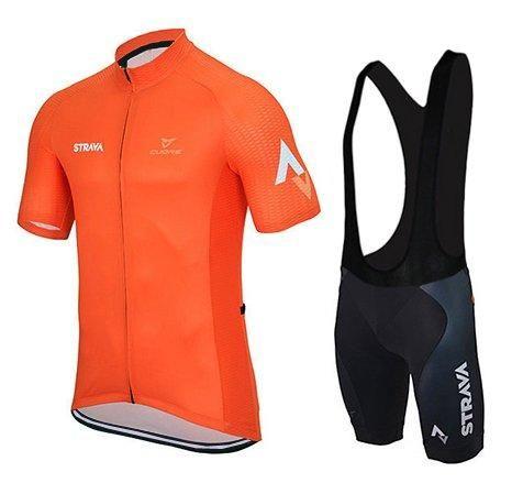 2015 Strava Cycling Jersey + Bib Shorts (M)  f3fd8d7b6