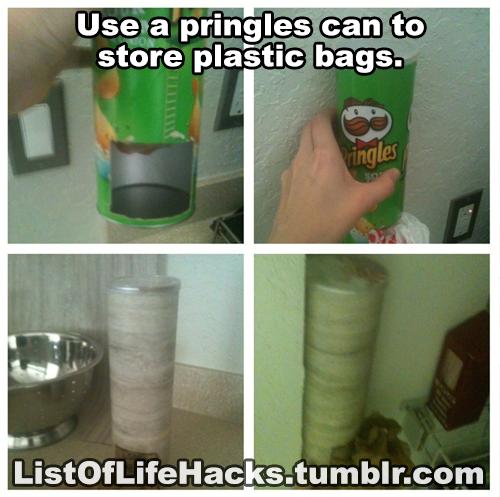 Pringles Kierrätys