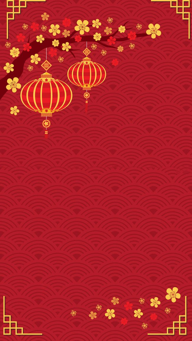 Chinese New Year Festive Background Psd Layered in 2020