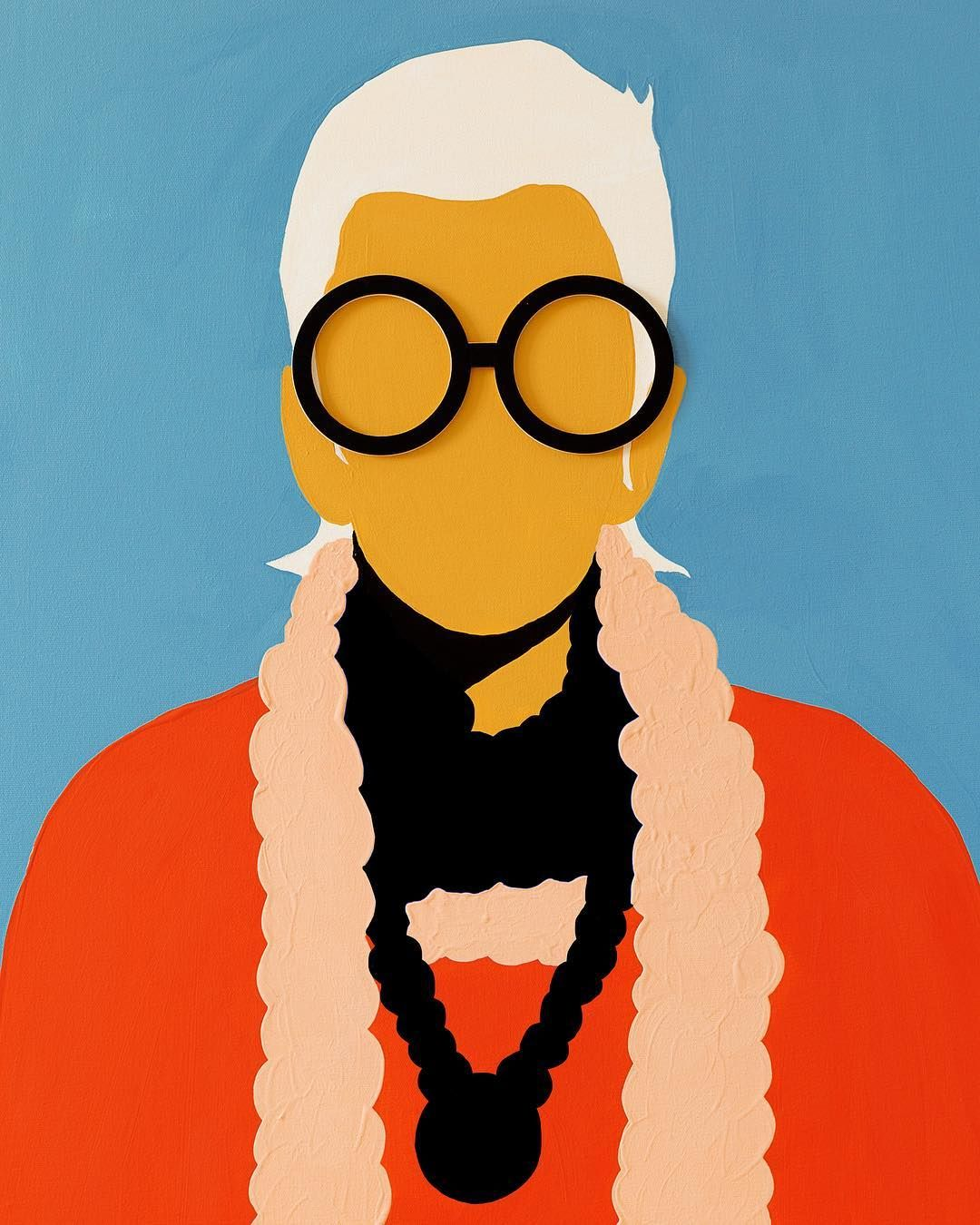 When You Don T Dress Like Everyone Else You Don T Have To Think Like Everyone Else Iris Apfel Iris Apfel Iris Illustration