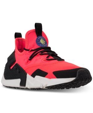 569f2b2de28d Nike Men s Air Huarache Run Drift Casual Sneakers from Finish Line - Red  10.5