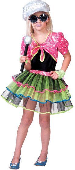 Rock and Roll Diva Rockstar Kids Costume  sc 1 st  Pinterest & Rock and Roll Diva Rockstar Kids Costume | Dress My Girly ...