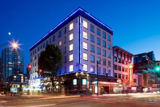 Comfort Inn Downtown Vancouver Hotels Seattle Vacation