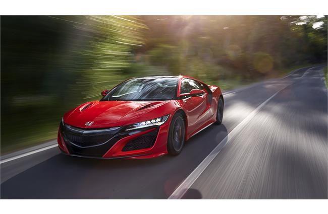 Honda Nsx Nsx Super Cars Red Car