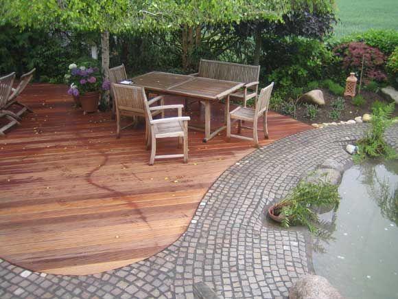 Holz im garten axel seifert gartengestaltung mit for Gartengestaltung terrasse ideen