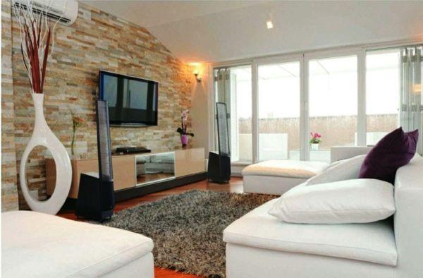 Wohnzimmer Ideen Wandgestaltung wohnzimmer Wohnen Pinterest