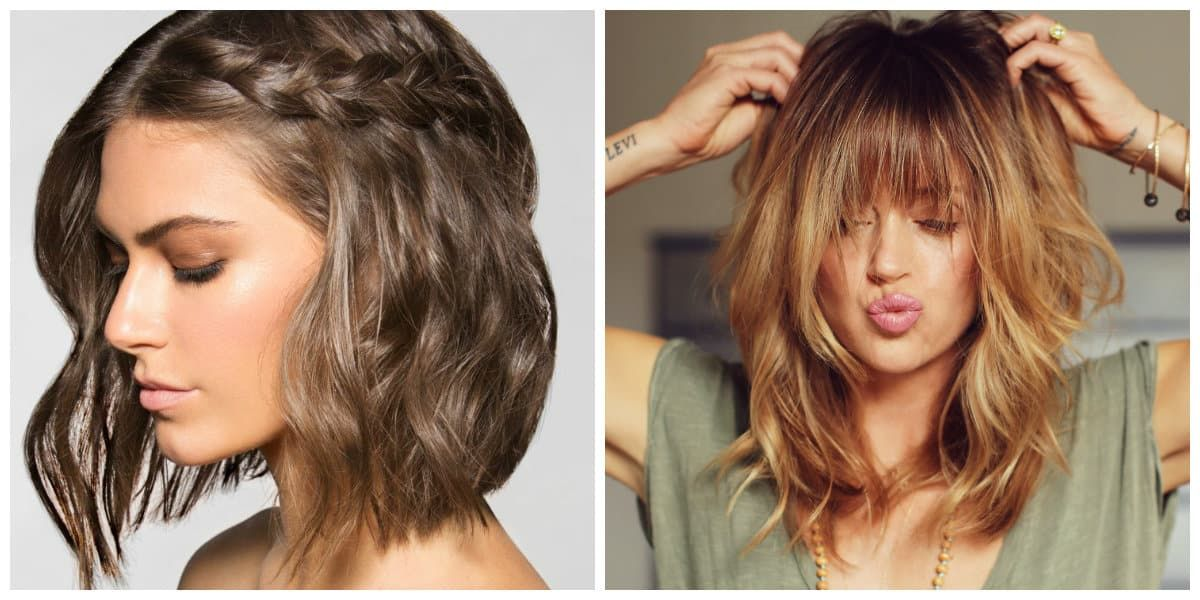 2021 Hair Trends Best Trendy Hairstyles And Ideas For Your Modish Look 70 Photos Videos In 2020 Medium Hair Styles Hair Styles Hair Trends