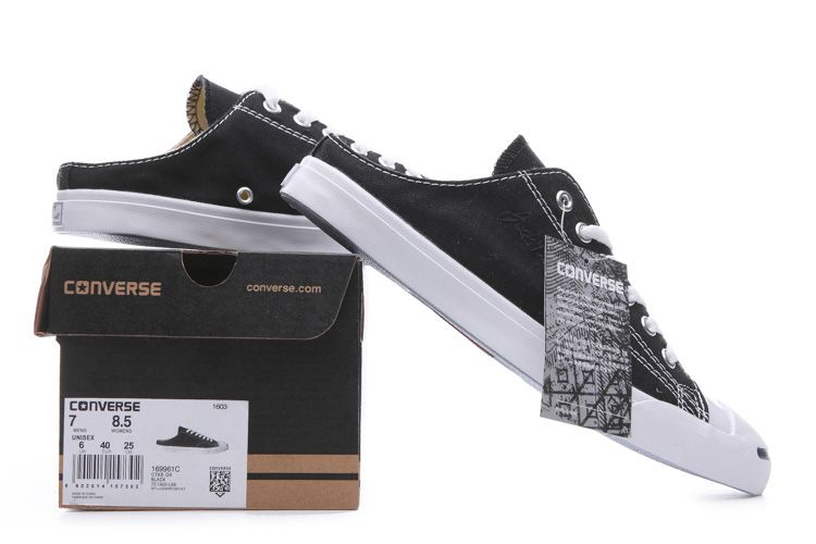 7d6185cb4d597b Black Converse Jack Purcell II Slip On Arc Loafer Low Canvas  converse   shoes