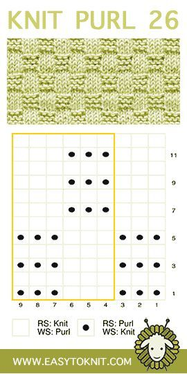 Strick- und Feinstriche für Anfänger-Strickwaren #knitpurl #knittingstitches #knitheadbandpattern