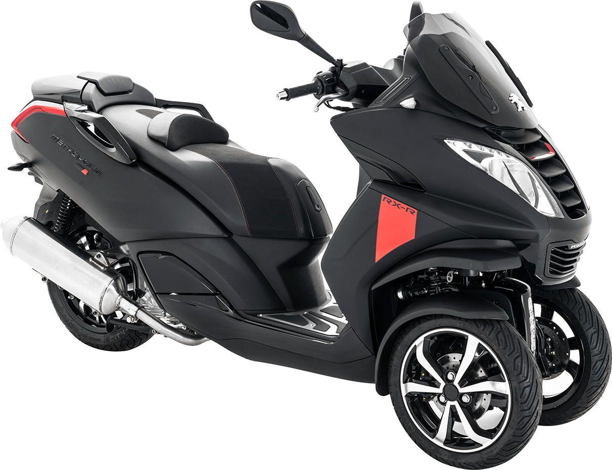 Pour 2017 le scooter 3 roues peugeot metropolis volue en profondeur