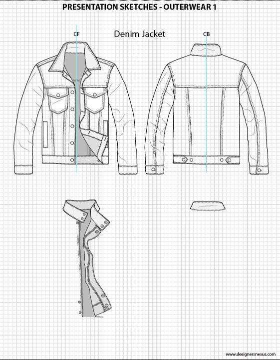 Mens Flat Fashion Sketch Templates - My Practical Skills My