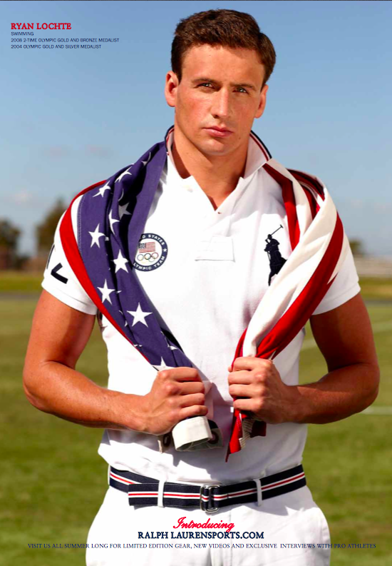 Ryan Lochte come to me