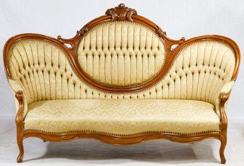 Victorian Mahogany Cameo Parlor Sofa Liveauctioneers